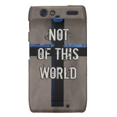 Not of This World Christian Cross NOTW Droid RAZR Cover