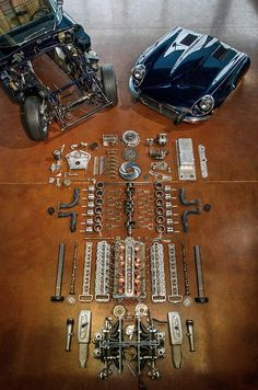 Mechanical soul; some assembly required. The Jaguar V12... Mine is, thankfully still assembled in our XJ-S
