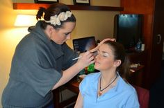 Kenz Massagli in Hair & Make-Up