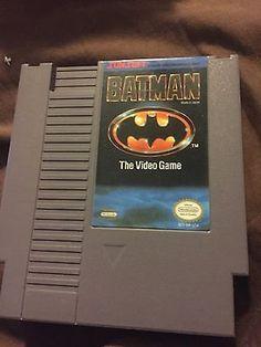 Nes System, Nintendo, Batman, Video Games, Gaming
