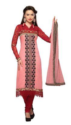 New Indian Ethnic Fancy Designer Salwar Kameez Cotton Suit Dress Material #Unbranded #IndianStraightsalwarSuit
