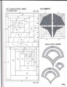 Japanese Log Cabin patterns - Lita Z - Picasa Webalbums