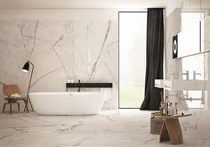 Prachtig keramisch marmer! Moderne badkamer, marmerlook, Fondovalle ...