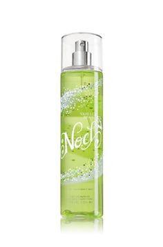 Bath and Body Works Vanilla Bean Noel Fine Fragrance Mist New for 2012 8 Oz