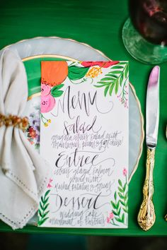 RECENT WORK: COLORFUL FLORIDA INSPIRED WEDDING | FEATURED ON RUFFLED BLOG