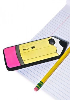 Case de teléfono en forma de lápiz