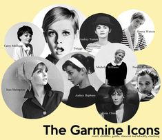 Icons of Gamine Style