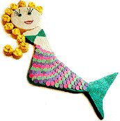Mermaid Party    Age-specific celebrations for preschoolers, grade-schoolers and preteens  by Charlotte Meryman
