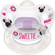 NUK Disney Baby Minnie Mouse Puller Pacifier in Assorted Colors and Styles, 6-18 Months