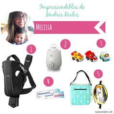 """""""¡Hola! me llamo Melissa, soy Administradora, esposa, mamá de Miguel Arturo de 15 meses, me encanta la buena comida, pintar, los niños y viajar. Me apasionan los bolsos de maternidad y la puericultura, es por ello que he creado la marca @melimaslali 1.Mochila portabebés de @babybjorn 2.Calienta biberones de Philips Avent3.Cochecitos de juguete (@tuctuconline Bolidos, Beep Beep, #chicco) 4.Pomada Protectora #Bepanthol5.Mi bolsa de maternidad @melimaslali"""