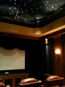 Sky/Starscape for media room ceiling