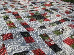 Hobble Creek Quilts: Starry-Eyed Christmas Quilt