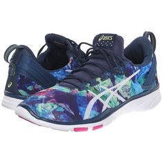 bd193d253082d8 ASICS Gel-Fit Sana 2 (Pool Blue White English Rose) Women s Cross... (3