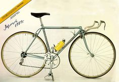 so I guess this is a legit Olympic bike from the Ukraine in the 80's.  Cool.