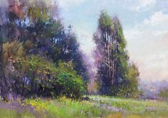Layers of Light by Richard McKinley Pastel ~ 10 x 14