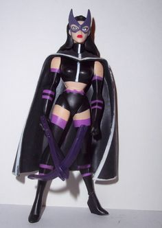 justice league unlimited HUNTRESS with CROSSBOW batman animated mattel dc universe animated action figure toy for sale to buy jlu