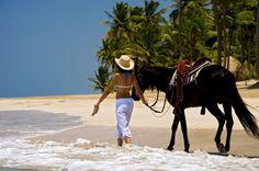Zoëtry Agua Punta Cana; #SimplePleasures complimentary horseback riding!