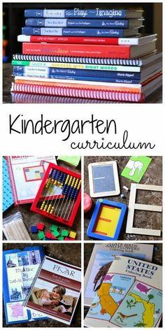 Hands on homeschool curriculum for kindergarten - tons of great ideas here!