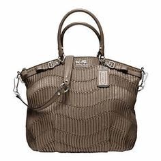 Coach - Madison Gathered Leather Lindsey