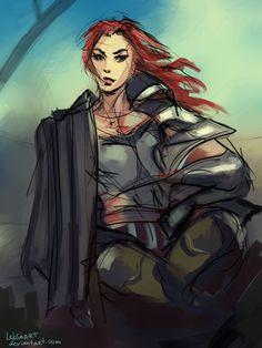 Mara Jade by *LeksaArt on deviantART