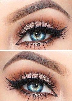 OMG she has such pretty eyes!!