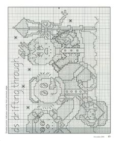 Gallery.ru / Фото #38 - Just Cross Stitch 2001 ноябрь-декабрь - tymannost