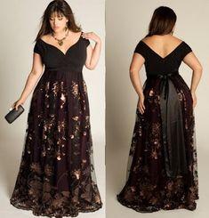 Vestidos de noche talla xl