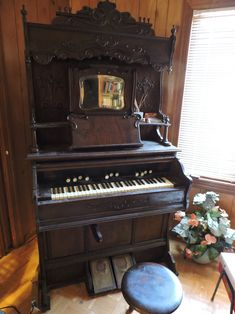 "Own a piece of American history - Estate Sale Tribute - Antique 1892 Beckwith Pump Organ Owned by Wilma Lee Cooper GRAND OLE OPRY, ""The First Lady of Bluegrass"" - Click Here https://www.deansliquidation.com/product-page/antique-1892-beckwith-pump-organ-owned-by-wilma-lee-cooper-grand-ole-opry  Grand Ole Opry​ Country Music Hall of Fame and Museum​ #Nashville #Tennessee #music #piano"