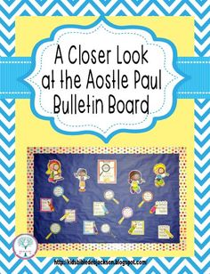 Apostle Paul Bulletin Boards