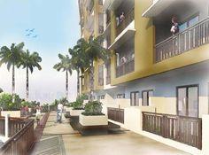 Accolade Place - Lanai #condo #realEstate #manilacondo www.mymanilacondo.com Quezon City, Manila Philippines, Luxury Condo, Condos For Sale, Lanai, Condominium, Water Features, Real Estate, Mansions