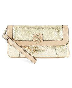 Guess Handbag, Reiko Small Wristlet Clutch - Macys $55