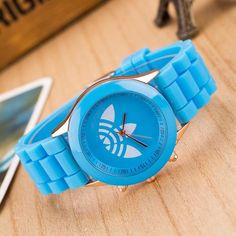 Fashion Quartz Dress Watch Men Women's Sport Casual Wristwatch 2017 New Creative Style Silicone Band Clock 13 Colors Reloj Mujer