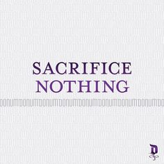 Sacrifice Nothing—project success without compromise and transcend the status…