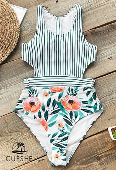 Cupshe Best-Selling One-Piece Series. - Swimsuits - Ideas of Swimsuits - One of our best-selling one-piece series. New print new style better and more fit! You'll fall in love with it at the first sight. Summer Bathing Suits, Cute Bathing Suits, Summer Suits, Bathing Suits One Piece, Swim Suits Modest, Trendy Swimwear, Cute Swimsuits, Women Swimsuits, Retro Swimwear