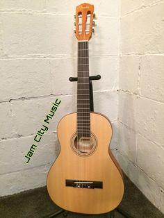 Fender ESC 80 Travel Mini 3 4 Size Classical Acoustic Guitar ESC80 | eBay
