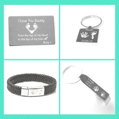 Beautiful Engraved Keepsakes, all personalised. Each item can feature a special message, name and Date. Capture those precious hand and footprints in time for Christmas.