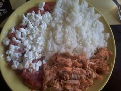 MyDOLE. FRYSalmon, rice and sallad. SELFMADE. Ready to eat. YUM. Recommended.
