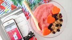 No dejes de hacer esto antes de hacer ejercicio!! Smoothie Bowl, Granola, Snack, Chocolate Fondue, Ice Cream, Desserts, Blog, Frozen Strawberries, Frozen Fruit