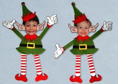 Elf Your Self free templates, patterns and printables by ALTERED ARTIFACTS