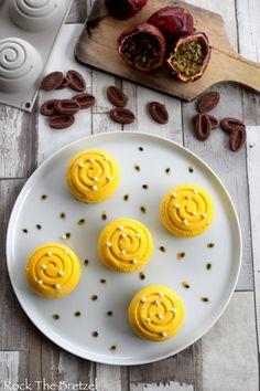 Mini-tourbillons à la vanille et fruits de la passion - Rock the Bretzel