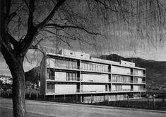 Studio di Architettura Vacchini, Locarno, Switzerland Gigon Guyer, B Architecture, Castle House, Luigi, Facade, Urban, Inspiration, Buildings, School
