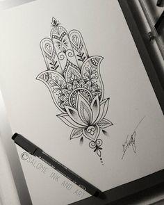 Tattoo lotus hand hamsa 35 ideas - Hand Nail Design FoR Women Hamsa Hand Tattoo, Hamsa Tattoo Design, Tattoo Designs, Tattoo Ideas, Hamsa Design, Hamsa Tattoo Placement, Hamsa Tattoo Meaning, Hipster Tattoo, Girly Tattoos