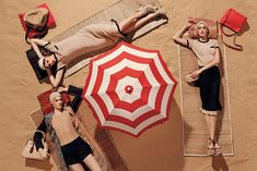 Frances, Esther & Charlene for Vogue Italia March 2015 | The Fashionography