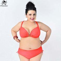 $25.35 (Buy here: https://alitems.com/g/1e8d114494ebda23ff8b16525dc3e8/?i=5&ulp=https%3A%2F%2Fwww.aliexpress.com%2Fitem%2FNewest-2015-Top-Big-Women-Bikini-Plus-size-Swimwear-Big-Bra-Hot-Sexy-Lingerie-Push-Up%2F32381632326.html ) Newest  Top Big Women Bikini Plus size Swimwear Big Bra Hot Sexy Lingerie Push Up Swimsuit For Big women Beach Bathing Suit for just $25.35
