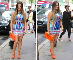 Khloe Kardashian 'Today' Show Dress — Flaunts Weight Loss In Tight Mini - Hollywood Life Khloe Kardashian Hair, Kardashian Jenner, Kylie Jenner, Tight Dresses, Nice Dresses, Summer Dresses, After Earth, Hollywood Life, Dress Picture