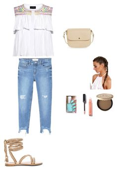 """""""Untitled #56"""" by paulans on Polyvore featuring Saloni, Too Faced Cosmetics, MANGO and BP."""