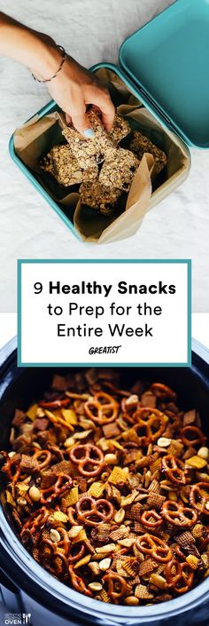 Banish those 4 p.m. snack attacks for good. #greatist https://greatist.com/eat/healthy-snacks-to-prep-for-the-week