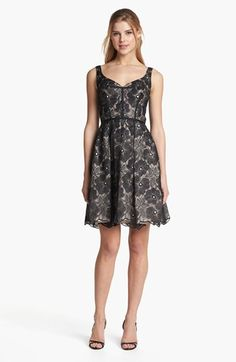 Jill Stuart Embroidered Organza Fit & Flare Dress available at #Nordstrom...pretty, but way too pricey...