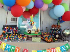 Up Up and Away Birthday Party Ideas | Photo 7 of 15 | Catch My Party