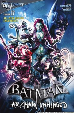 Page 1 :: Batman Arkham Unhinged [FR] :: Chapitre 17 :: Comics Reader FR